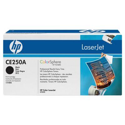 HP Colour LaserJet CE250A Print Cartridge 5000 with ColorSphere Toner - Black