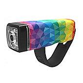 Knog Pop 1 Front LED Cycle Light 35 Lumens Rainbow
