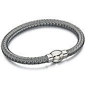 Fred Bennett Silver Woven Bracelet