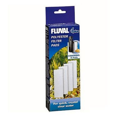 Fluval 4 'Plus' Polyester Pad (4Pcs)