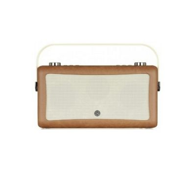 ViewQuest Hepburn MkII DAB/DAB+/FM Radio with Bluetooth (Brown)