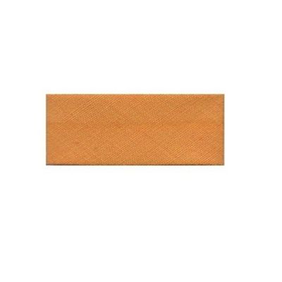 Essential Trimmings Polycotton Bias Binding, 2.5m x 25mm, Orange