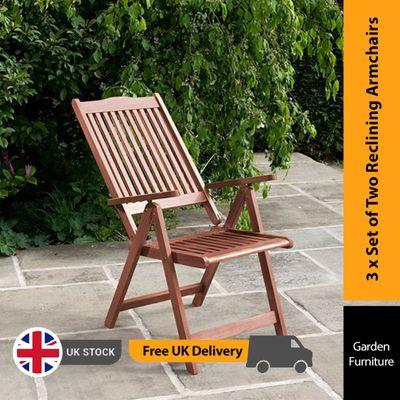 BillyOh Hampton Reclining Armchair - 6 x Reclining Chair