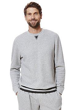 F&F Marl Ribbed Lounge Sweatshirt - Grey