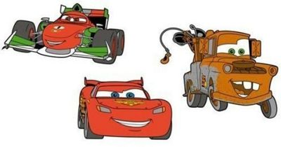 Disney Cars Foam Elements - Set of 3