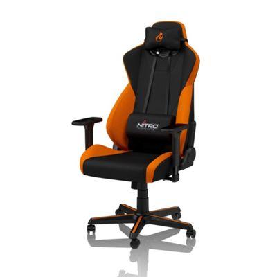 Nitro Concepts S300 Fabric Gaming Chair - Horizon Orange