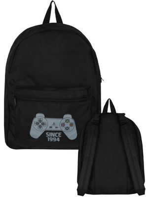 Playstation Reversible Black Backpack 32x41x14cm