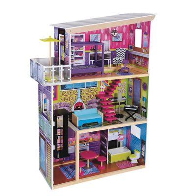 ELC La Belle Maison Wooden Dollsu0027 House
