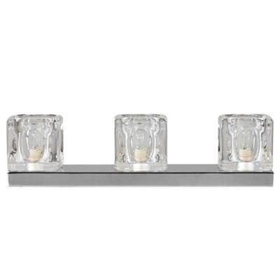 Buy minisun ice cube 3 way led touch table lamp chrome 3000k minisun ice cube 3 way led touch table lamp chrome 3000k aloadofball Choice Image