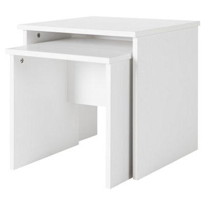 Fulton Living Nest of Tables - White