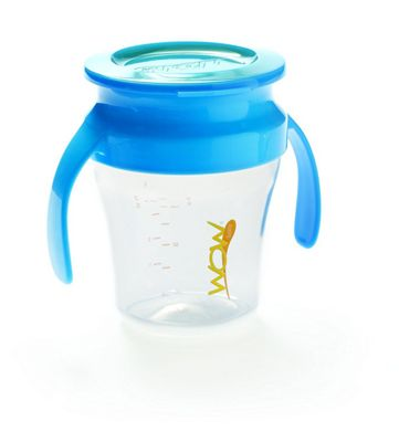 Wow Gear Wow BABY Cup Spill-Free 360° Drinking Cup (Blue)