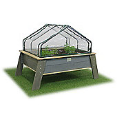 EXIT Aksent Kids Planter Table XL Deluxe with Greenhouse