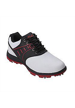 Confidence Iii Waterproof Golf Leather Shoes - White