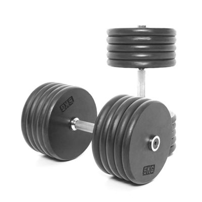 Body Power Pro-style Dumbbells 50kg (x2)