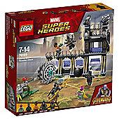 LEGO Marvel Super Heroes 76103 Avengers Corvus Glaive Thresher Attack