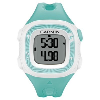 Garmin Forerunner 15 Running Watch Teal/White