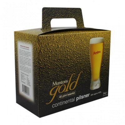 Muntons Gold - Continental Pilsner - 40 Pints