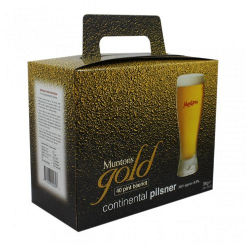 Muntons Gold - Continental Pilsner - 40 Pints