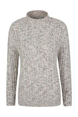 Mountain Warehouse Aspen Womens Cable Knit Top ( Size: 10 )