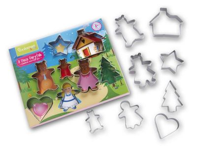 Buy Cooksmart Kids 8 Piece Fairy Tale Cookie Cutter Set from our ...