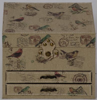 Ornithology Jewellery Box
