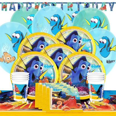 Finding Dory Party Pack - Deluxe Party for 8