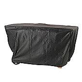 Lifestyle 3 Burner Flat Bed Barbeque Cover (Black)