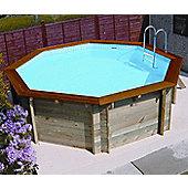 Plastica Eco Octagonal Wooden Pool 3.71m x 3.71m