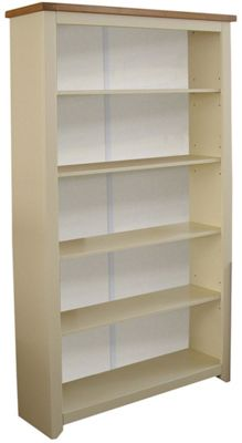 Core Products Jamestown Tall Cream and Ash Bookcase