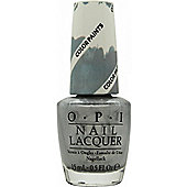 OPI Color Paints Collection Nail Polish 15ml - Silver Canvas Undercoat
