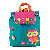 Toddler Backpacks, Kids Backpacks, Children's Teal Owl Backpack