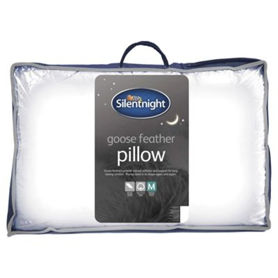Silentnight Goose Feather Pillow