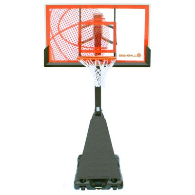 BEE BALL ZY-021 Optimum Basketball Hoop with Chain Net, Breakaway Ring and Pro Style Backboard
