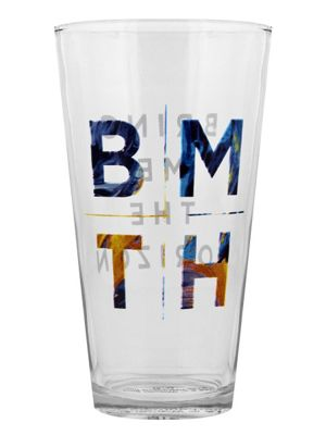 Bring Me The Horizon Logo Drinking Glass