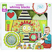 Alex Toys Wooden Whimsy Building Blocks