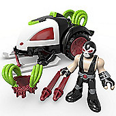 DC Super Friends Imaginext Bane Battle Sled With Bane Character Included