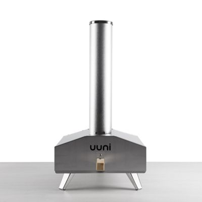 Uuni 3 Stainless Steel Wood-Fired Oven with Stone Baking Board and Pizza Peel