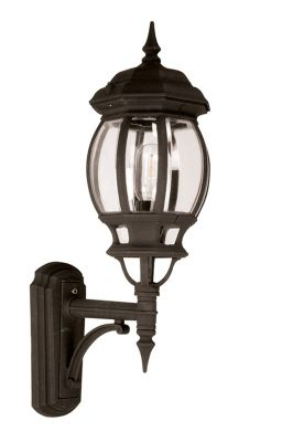 Elstead Lighting Seville Wall Lantern - Black