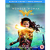 Wonder Woman 3D Blu-Ray 2 Disc