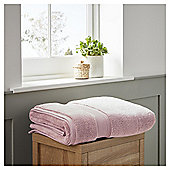 Fox & Ivy Supremely Soft Rose Pink Bath Towel