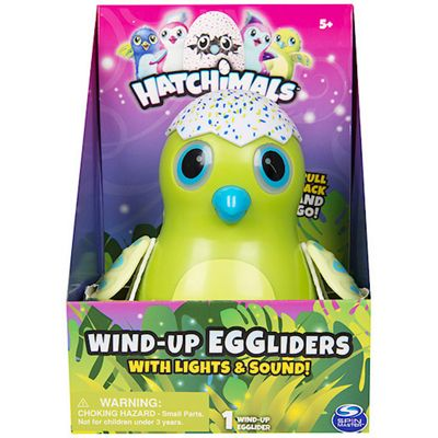 Hatchimals Wind-Up EGGLiders with Lights and Sounds