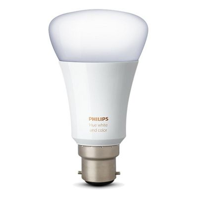 Philips B22-Single-Bulb Hue White and Colour Ambiance B22 LED Single Bulb