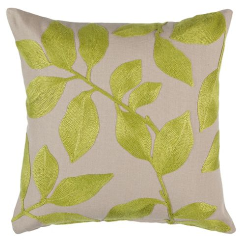Citron Weave Cushion