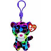 TY Keyclip Beanie Boos Dotty The Leopard