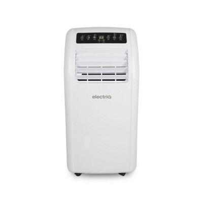 electriQ 10000 BTU Quiet Portable Air Conditioner for rooms up to 20sqm