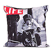 LIFE® Scatter Cushion - Monkey On A Bike