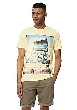 F&F Venice Beach T-Shirt - Lemon Yellow