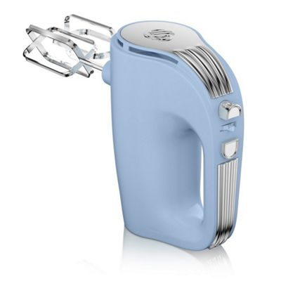 Swan SP20150BLN Retro Hand Mixer - Light Blue