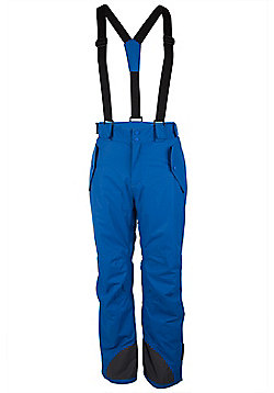 Voss Mens Extreme Snowboarding Skiing Waterproof Ski Salopettes Trousers Pants - Blue