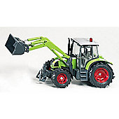 Siku Claas Ares Tractor With Front Loader 3656 1:32 Model Farm Toys